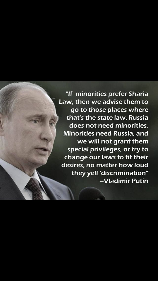It IS shameful AND embarrassing to realize that Putin is so much smarter than the president of the United States. Does not have the gonads that the President of Russia possesses. We have woos in the highest office in this country and our Congress and Senate will do nothing about it..how sad...they are as weak as our President.......EVEN PUTIN GETS IT...WELL I HOPE OBAMA READS THIS ONE......LET US PRAY...
