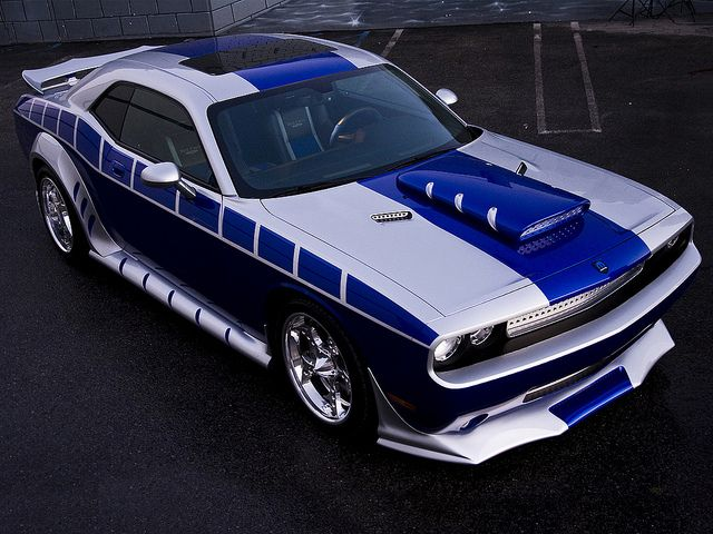 Outrageous 2010 Dodge Challenger Custom by Rich Evans Designs