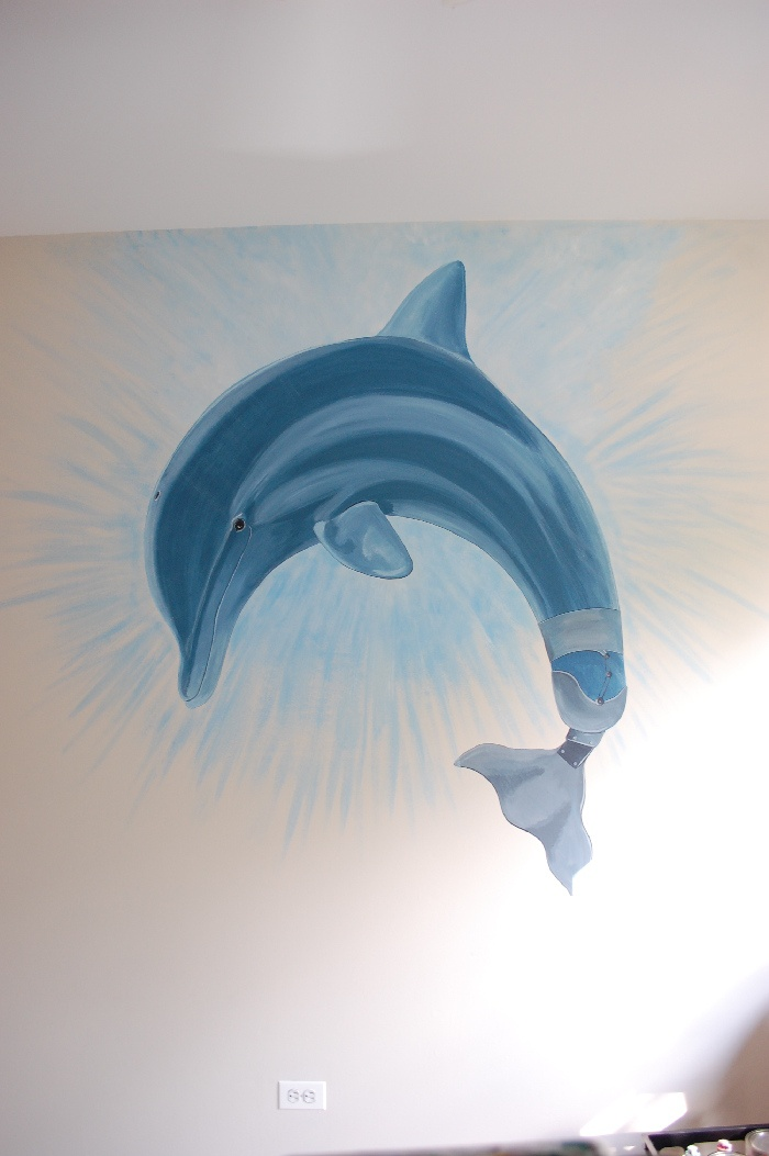 Winter The Dolphin Mural Idea As Seen On Findamuralist By Victoria Kozlowski