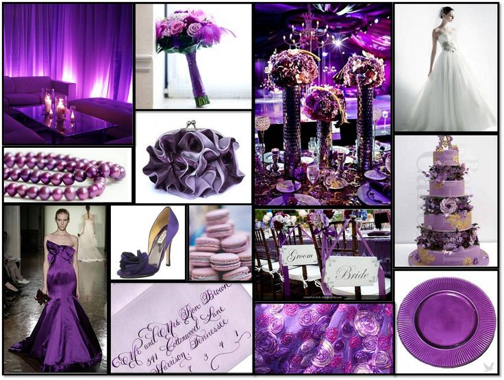Purple Ideas For Weddings: 94 Best Purple & Red Decor Images On Pinterest