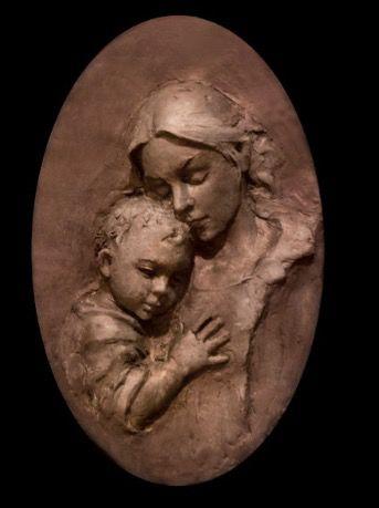 Clay relief by Mary Buckman. Marybuckman.com
