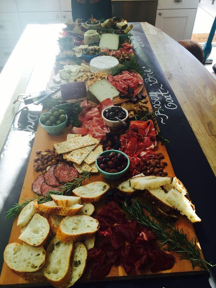 Charcuterie & Cheese display by myself!