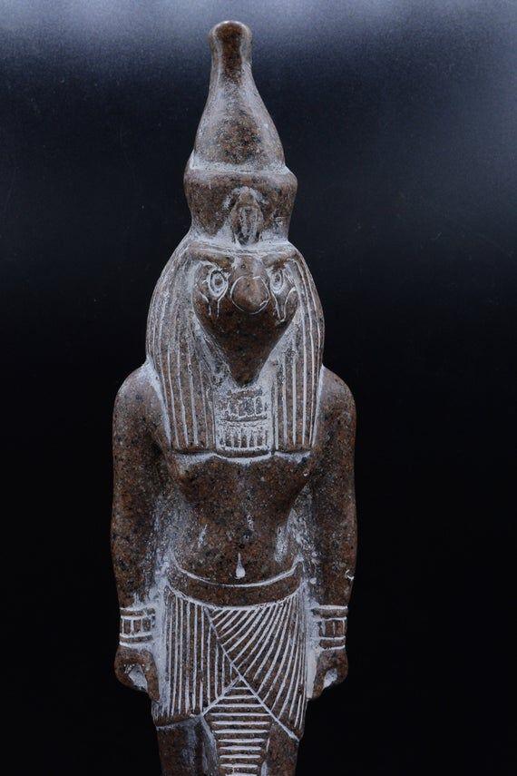 Vintage Large Egyptian Falcon God Horus