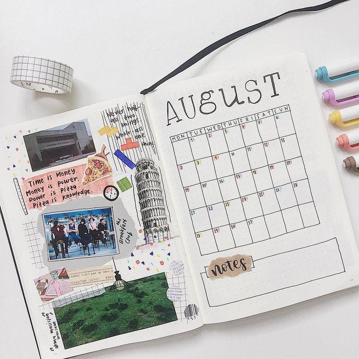 Dot Calendar Bullet Journal : Best bullet journal images on pinterest