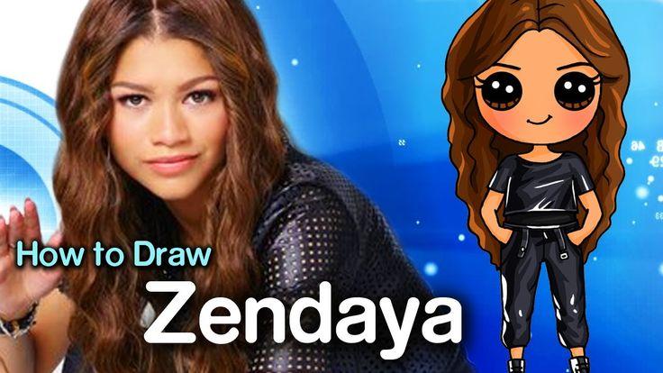 How to Draw Zendaya Disney 39 s