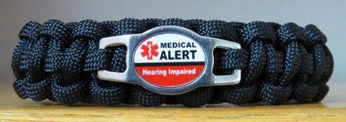 Hearing Impaired Bracelet w/Side Release Buckle  $16.95