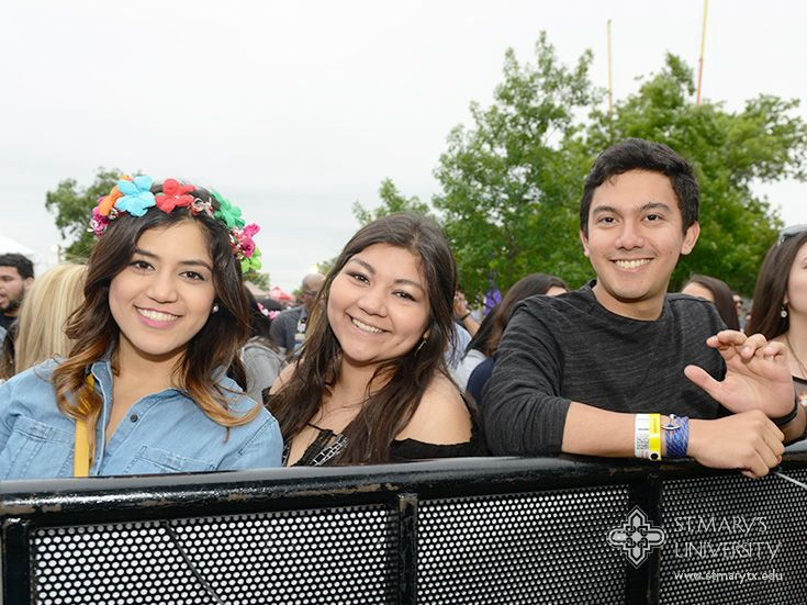 Friends And Family Welcome At St Mary S University For Fiesta