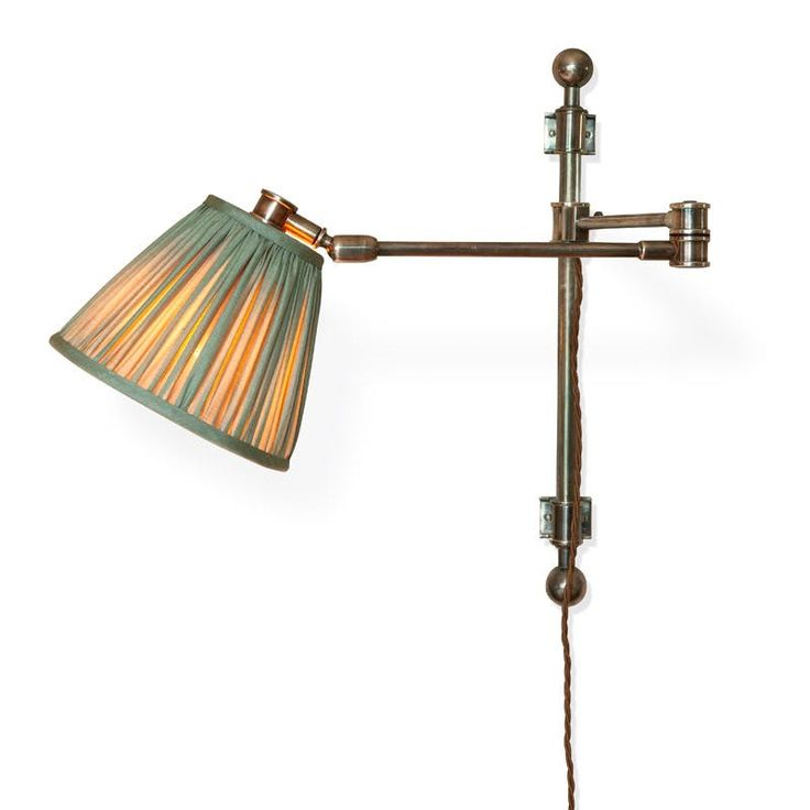The Reading Wall Light With Swivel Traditional, Metal, Wall Lighting by Soane Britain