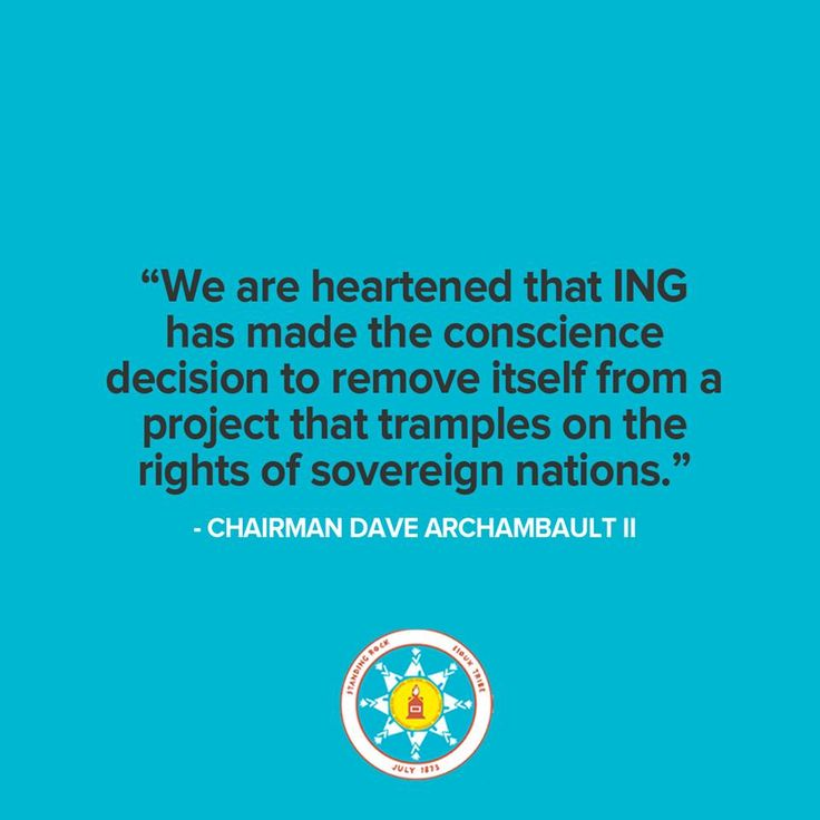 We applaud ING for making the decision to cut their ties with DAPL; they are the first bank to offload debt. We strongly urge other banks to follow ING's lead. As we've seen time and time again - customers support #divestment.  Read the full statement here: http://standwithstandingrock.net/standing-rock-applauds-netherlands-based-banks-move-offload-dapl-debt/
