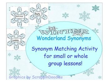 17 best ideas about Synonym Activities on Pinterest | Synonyms and ...