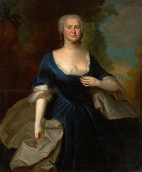 JACOB WESSEL - Konstancja Czapska, 1740-46