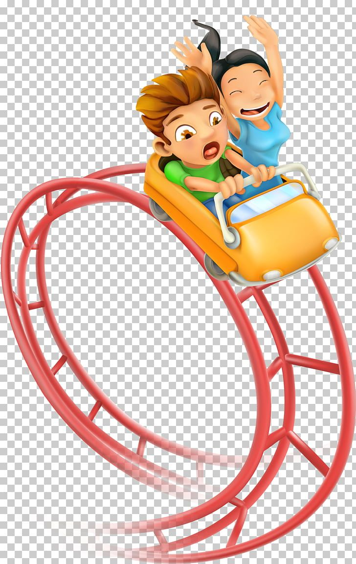 Roller Coaster Cartoon Png