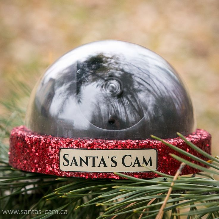 Santa's Cam Extreme - Help your children remember to behave, in the days leading up to Christmas, by installing a Santa's Cam.  Comes in 3 different finishes.