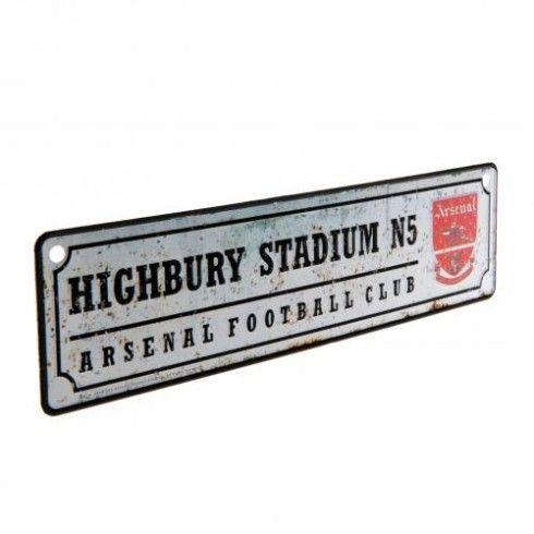 Arsenal F.C. Retro Window Sign