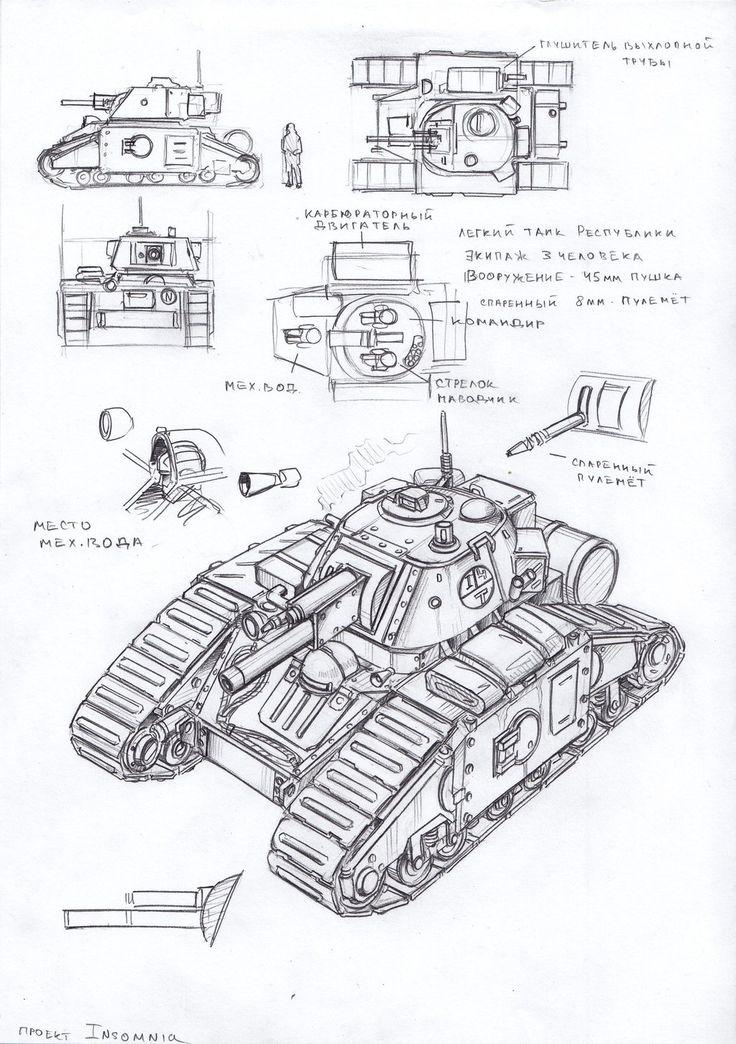 light tank by TugoDoomER on DeviantArt