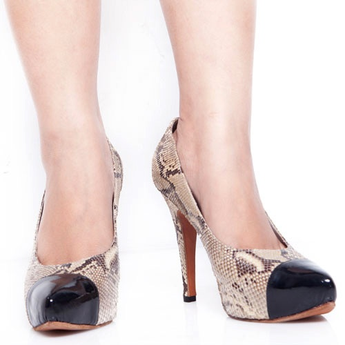 Eight Shoes - Phyton Heels Pump - Rp. 434.500