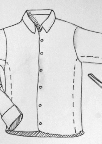 Переделка мужской рубашки в женскую (52 фото): мастер-класс как из мужской рубашки сделать женскую своими руками