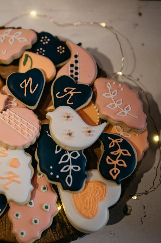 Pastel cookies wedding Melbourne Australia photographer