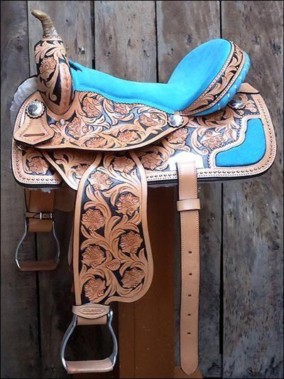 Barrel Racing Saddle $395 LOVE!! wow! beautiful!