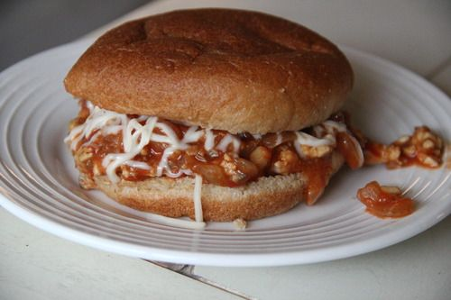 Skinny Sloppy Joes - i heart food | food | Pinterest