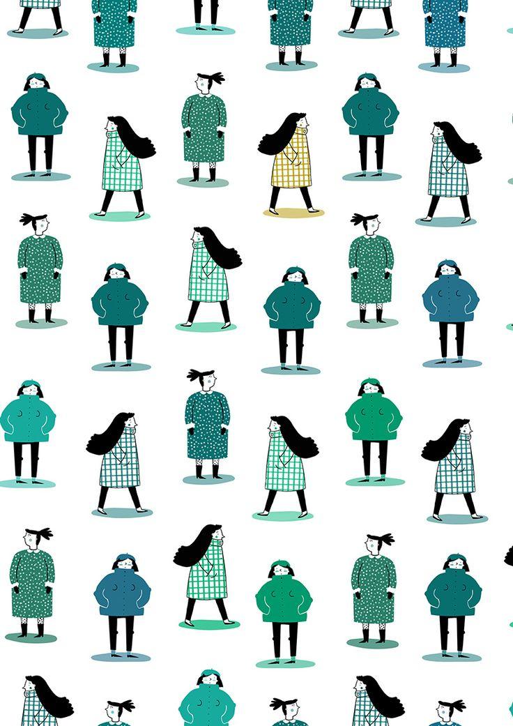 #illustration #anaseixas #newdivision #character #pattern