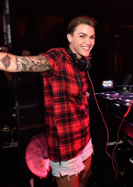 Ruby Rose Spins DJ Set At Surrender Nightclub In Encore at Wynn Las Vegas