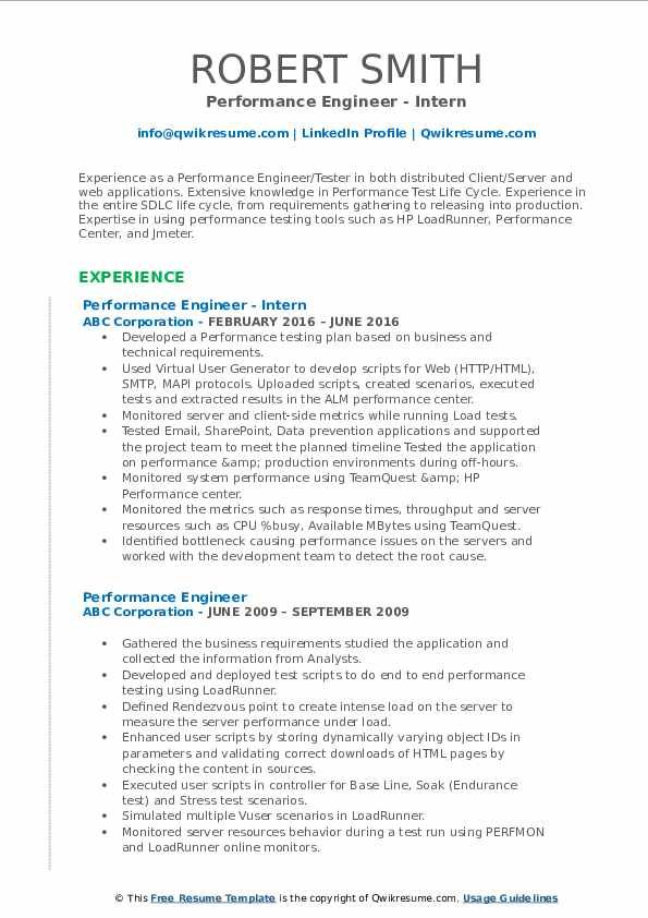 Performance Engineer Resume Samples Middle School Science Teacher Teacher Resume Examples Teacher Resume