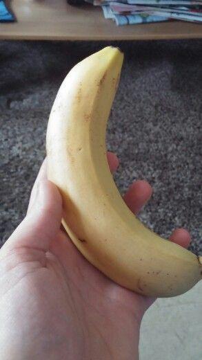 Flingor + banan till frukost