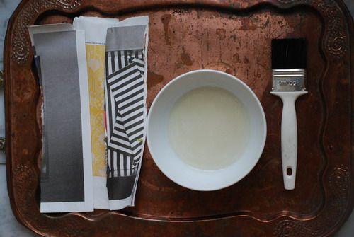 DIY wallpaper paste! Really easy to do :)