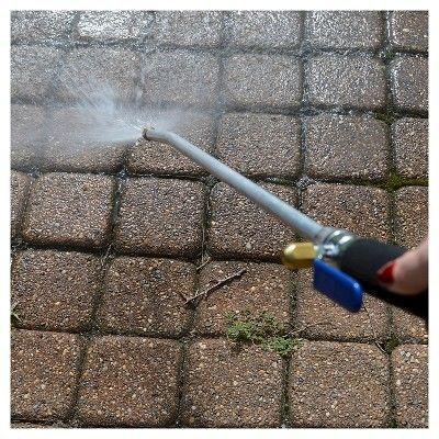 Ray Padula Power Blaster High Pressure Water Wand Hose Nozzle, Blue