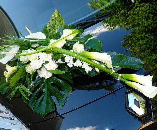 décoration voiture de mariés 5