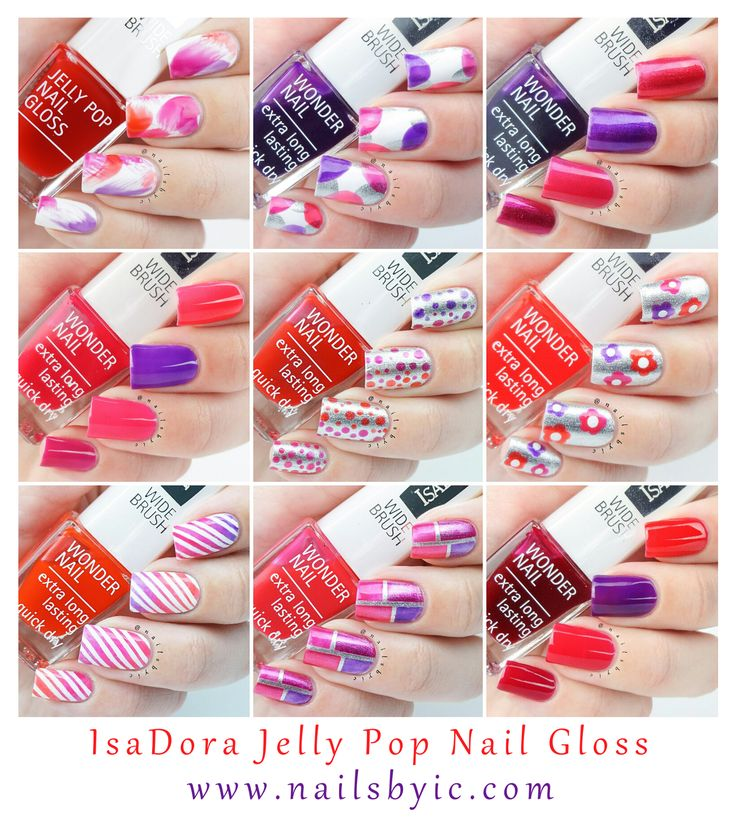 Best 25+ IsaDora nail polish swatches and nail art images on ...