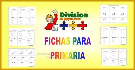 Ejercicios de divisiones para primaria