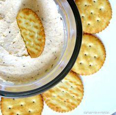 Knoblauch - Käse - Creme zum Dippen