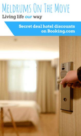 Secret deal hotel discounts on Booking.com
