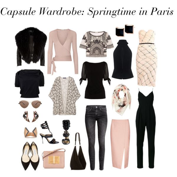 Capsule Wardrobe: Springtime in Paris
