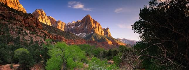 Zion National Park is Utah's oldest national park, having been established since 1919. Having said that, Zion National Park in Utah represents million of years of natural forces creating superb landscapes that your eyes can feast on. Zion Park also showcases the vast area where three cultural periods of human history existed.