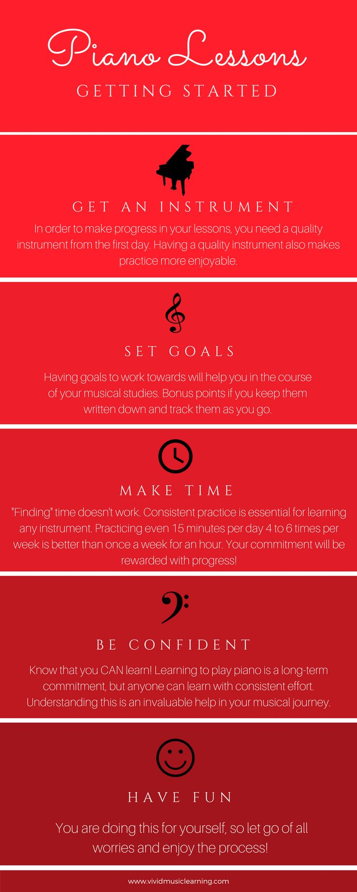 174 best piano images on pinterest sheet music classical music how to learn piano an infographic for getting started have you always wanted to learn hexwebz Gallery