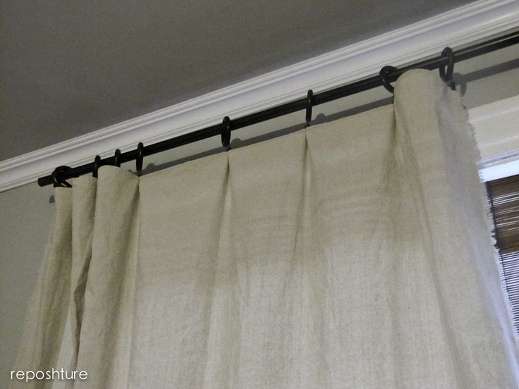 The 25 Best Cheap Curtain Rods Ideas On Pinterest Cheap Curtains Diy Curtain Rods And