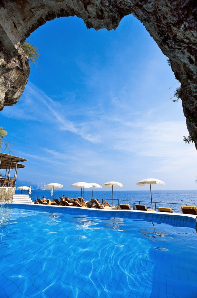 The Best Hotel In Amalfi Mediterranean Heaven Santa Caterina Of Italy