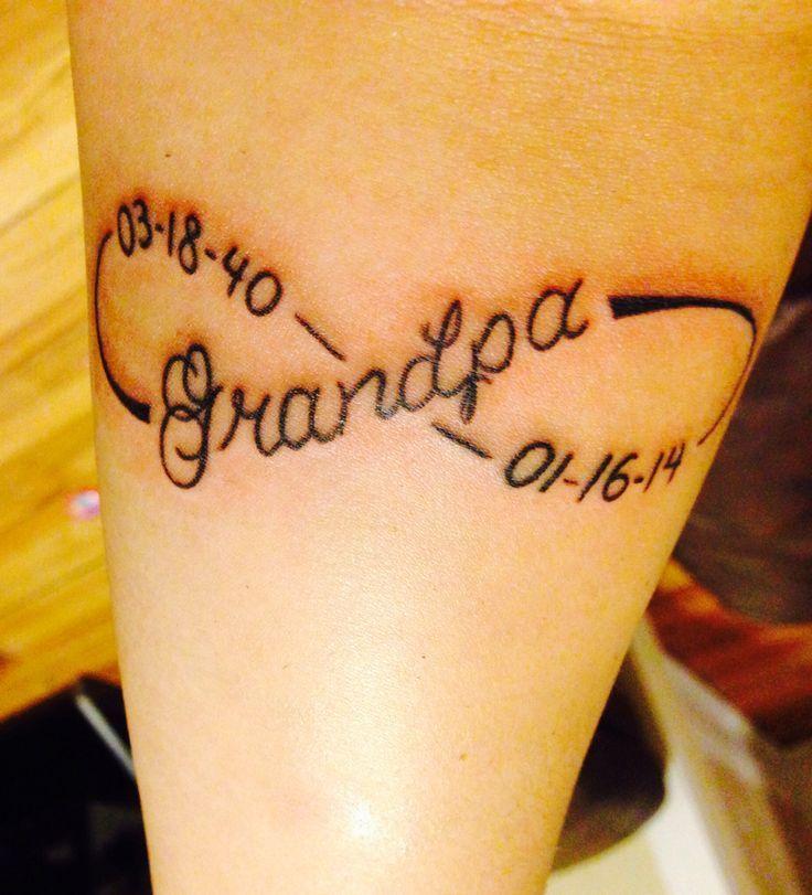 Image result for memorial tattoos for grandparents