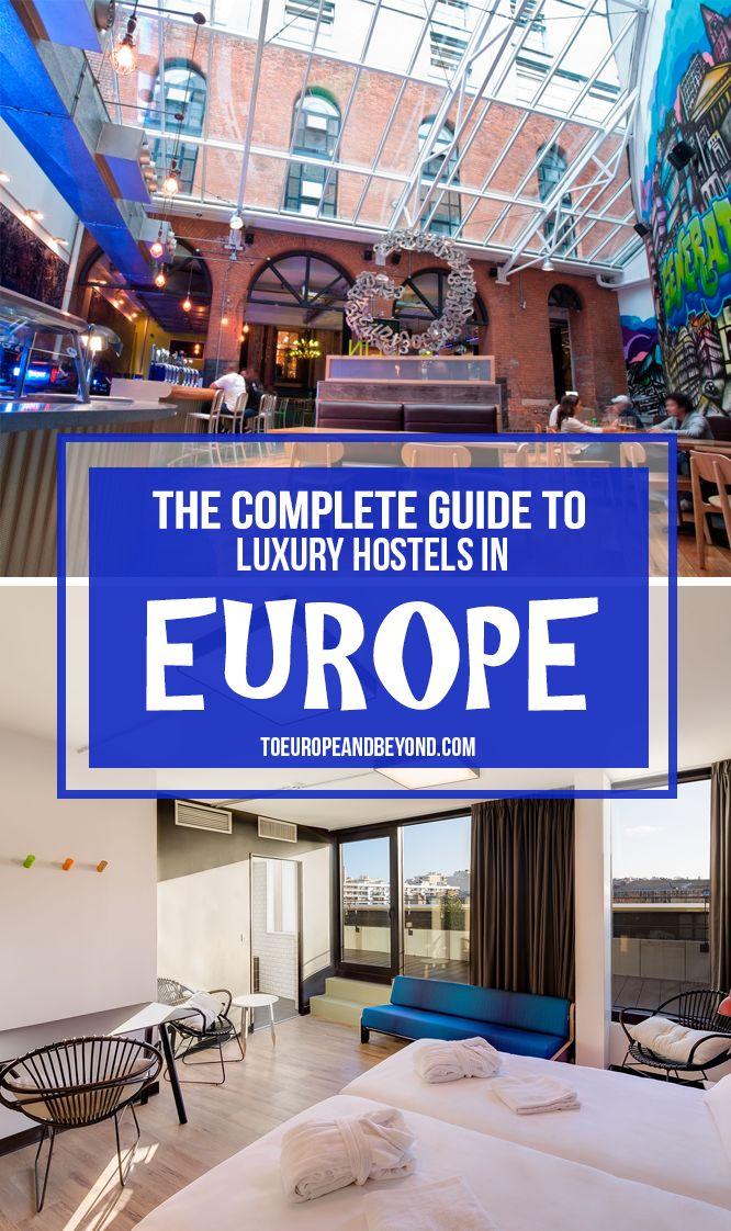 My Favourite Hostels in Europe