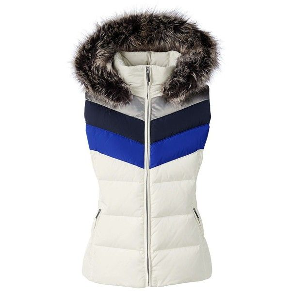 Lands' End Women's Petite Hooded Down Vest ($85) ❤ liked on Polyvore featuring plus size women's fashion, plus size clothing, plus size outerwear, plus size vests, ivory, hooded down vest, vest waistcoat, down vest, lands' end and ivory vest