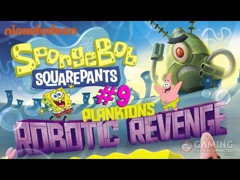 Spongebob Squarepants Game Full Episodes 9 - Plankton's Robotic Revenge ...