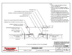 Standing Seam Metal Roof Expansion Joint