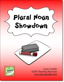 $ Plural Noun Showdown 20-page mini pack includes a lesson plan for reviewing regular and irregular plural noun formation. You'll find a quick teacher-directed overview followed by an interactive cooperative learning game and a quiz. Task cards and answers included. Preview the entire packet of materials online before purchasing.: Nouns Showdown, Language Art, Irregular Plural, Fun Review, Language Standards, Laura Candler, Common Cores, Language Color, 2Nd Grade