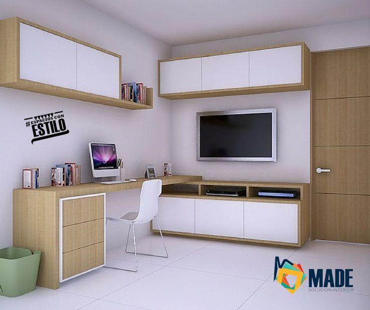 Centro de entretenimiento + Estudio   Decoración de Interiores   Diseño de Interiores Diseño by Arq Alex Pardo