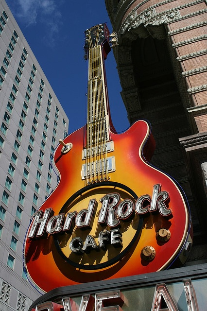 Hard Rock Cafe - Philadelphia, PA http://www.flickr.com/photos/picturejourneys/1574223820/in/photostream/