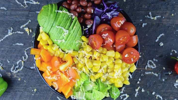 Salade-repas 101: le bol de burrito