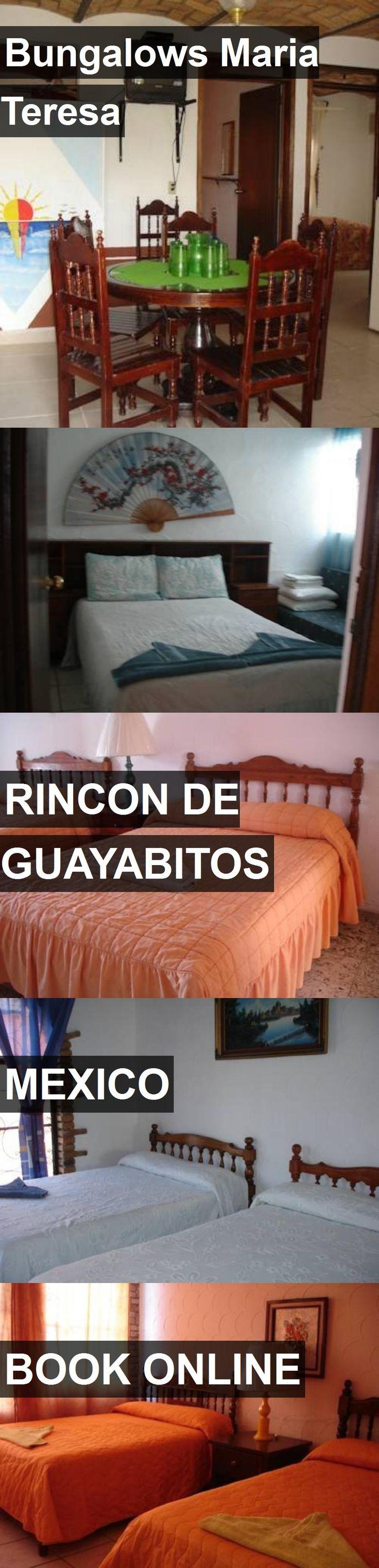 Hotel Bungalows Maria Teresa in Rincon de Guayabitos, Mexico. For more information, photos, reviews and best prices please follow the link. #Mexico #RincondeGuayabitos #travel #vacation #hotel
